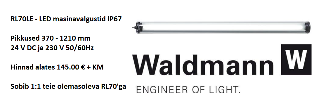 Waldmann RL70LE LED masinavalgusti